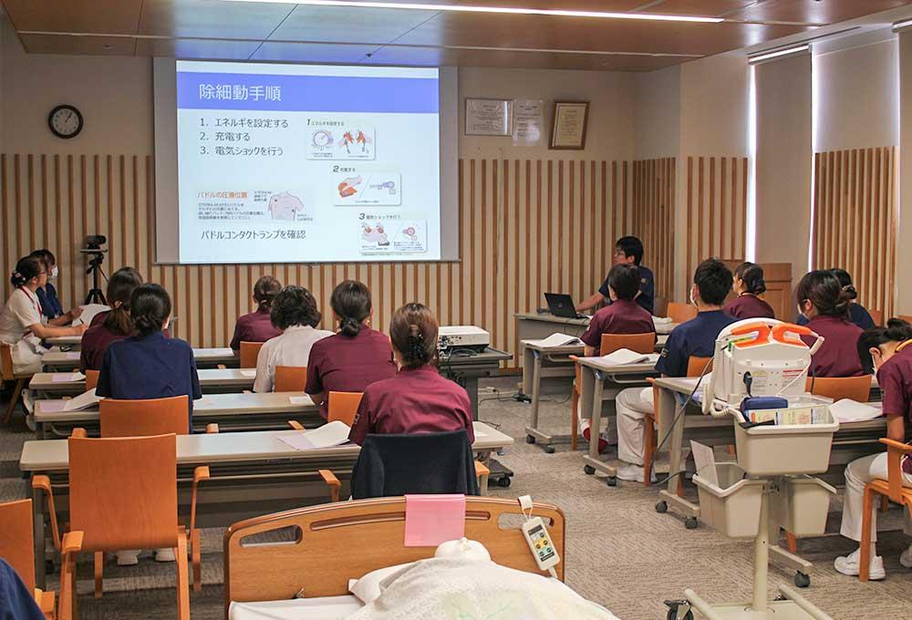 各部門における教育研修の実施